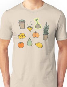 Fruit and Plants Unisex T-Shirt