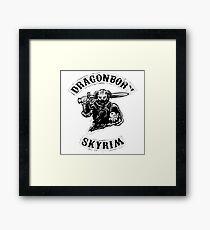 Dragonborn (K) Framed Print