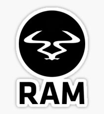 RAM Records Sticker