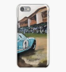 History on the Lawn, Ford GT-40 iPhone Case/Skin