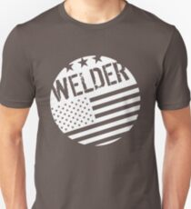 Welder: Flag (Circle) Unisex T-Shirt