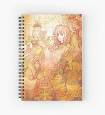 Le printemps - Spring Spiral Notebook