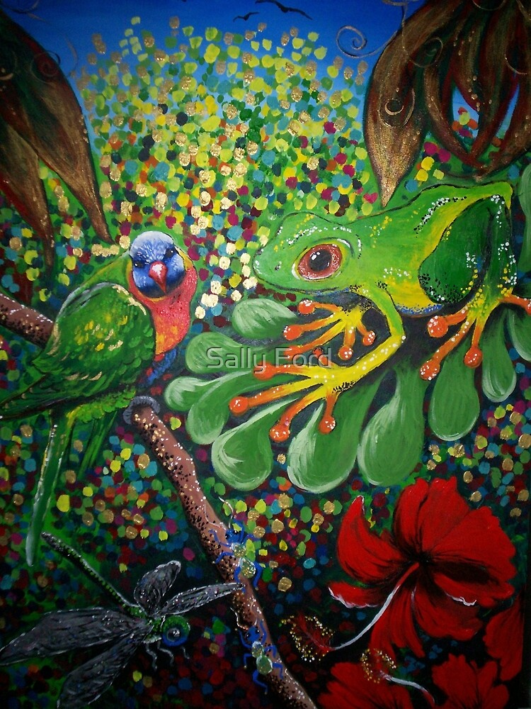 Rainforest Dreaming by Sally Ford