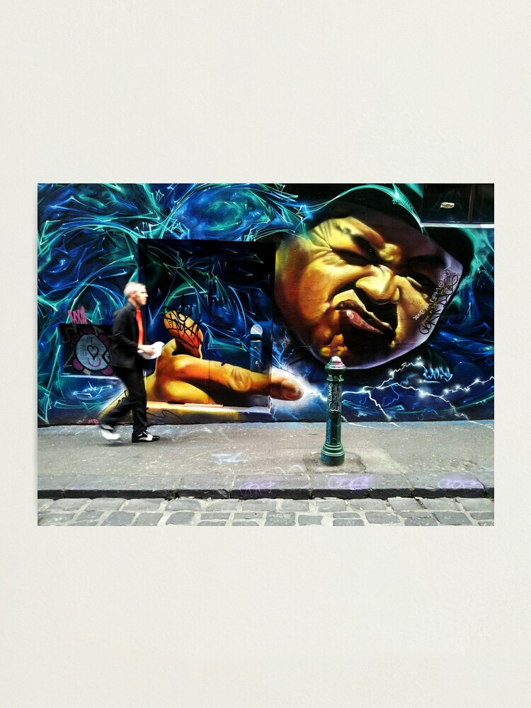 Alternate view of Hosier Lane Melbourne Photographic Print
