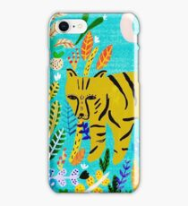 Tiger In The Jungle iPhone Case/Skin