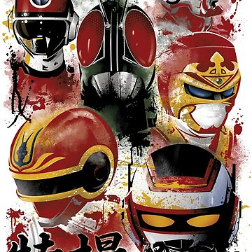 Tokusatsu Assemble's COLOR by dinshoran