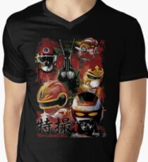 Tokusatsu Assemble's COLOR Men's V-Neck T-Shirt