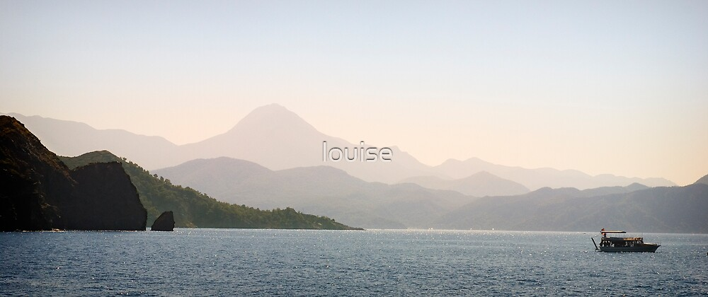 Fethiye Harbour by louise
