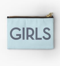 Girls in blue and grey Studio Pouch