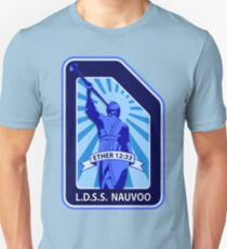 LDSS Nauvoo patch Unisex T-Shirt