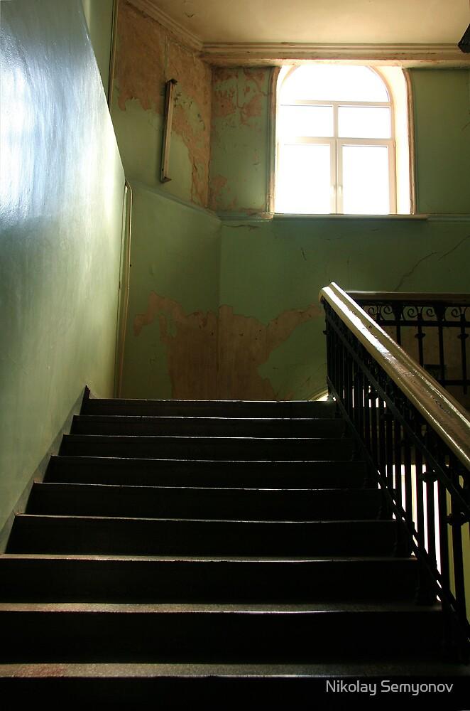 ...where ghosts still dwell by Nikolay Semyonov