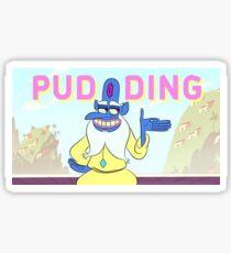 Glossaryck: Pudding  Sticker