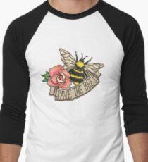 RETTE die Bienen! Baseballshirt mit 3/4-Arm