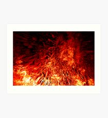 Born from the fires of Mount Doom... Art Print