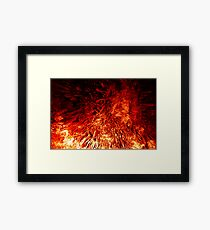 Born from the fires of Mount Doom... Framed Print