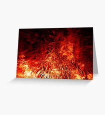 Born from the fires of Mount Doom... Greeting Card
