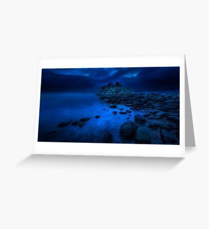 Whytecliff Dusk  Greeting Card