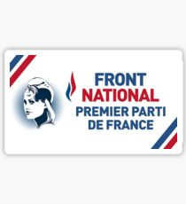 Logo Front national Sticker