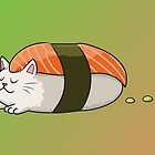 Sushi Cat by Samantha Moore