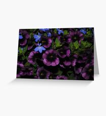 A Tapestry of Tiny Flowers Greeting Card