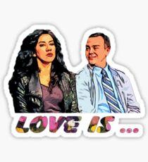 Boyle & Diaz Sticker