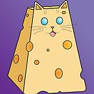 Cheese Cat by Samantha Moore