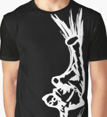 Bboy Mikey-Mike Black 'n White Graphic T-Shirt