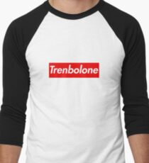 Trenbolone tren supreme parody Men's Baseball ¾ T-Shirt