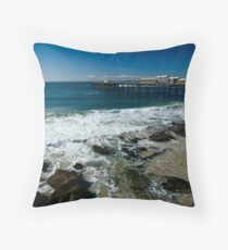 Catherine Hill Bay Throw Pillow