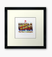 Ultra Street Fighter 2  Framed Print