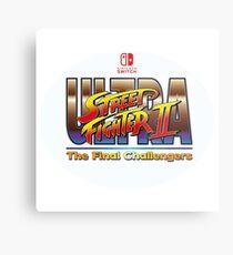 Ultra Street Fighter 2  Metal Print