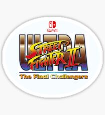Ultra Street Fighter 2  Sticker