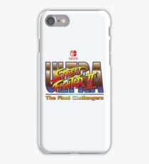 Ultra Street Fighter 2  iPhone Case/Skin