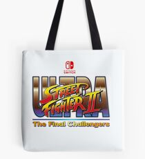 Ultra Street Fighter 2  Tote Bag