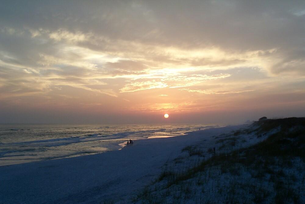 Grayton Beach Sunset by StudioN