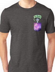 Tiny Rick Pocket Unisex T-Shirt