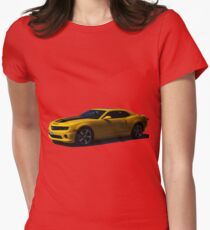 Chevy Camaro - Transformers Bumblebee  Womens Fitted T-Shirt