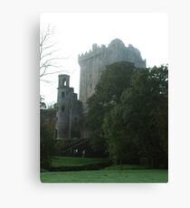 Blarney Castle in  the Mist Canvas Print