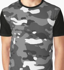 Military Camouflage: Urban II Graphic T-Shirt