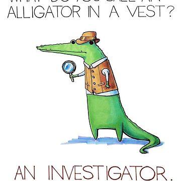 Alligator the Investigator de gekep