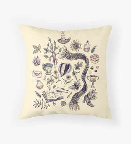 Loyal and True Throw Pillow