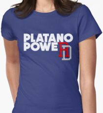 e514b6700 DOMINICAN REPUBLIC BASEBALL TEAM SUPPORT PLATANO POWER Fitted T-Shirt