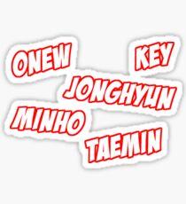 SHINee - 5HINee Design Sticker