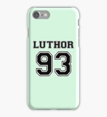 Supergirl - Luthor 93 iPhone Case/Skin