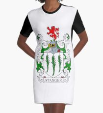 Stanger Coat of Arms Graphic T-Shirt Dress
