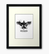Horizon Symbol Framed Print