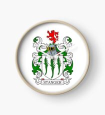 Stanger Coat of Arms Clock