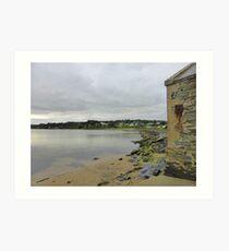 Greencastle Shoreline........................Ireland Art Print
