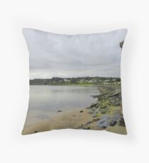 Greencastle Shoreline........................Ireland Throw Pillow