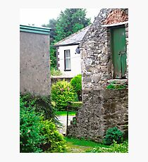 Farm Buildings and Farm House, Donegal, Ireland Photographic Print